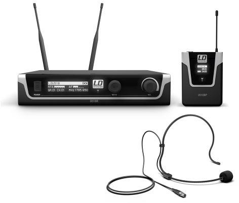 LD Systems U518 BPH mikrofon bezprzewodowy nagłowny
