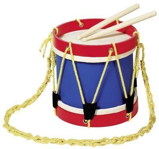Bęben marszowy dla dzieci, 61929-goki - instrumenty dla dzieci