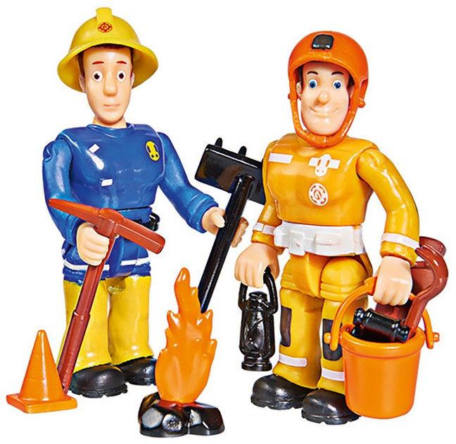 Simba Strażak Sam - Figurki Sam i Arnold 9251026 B