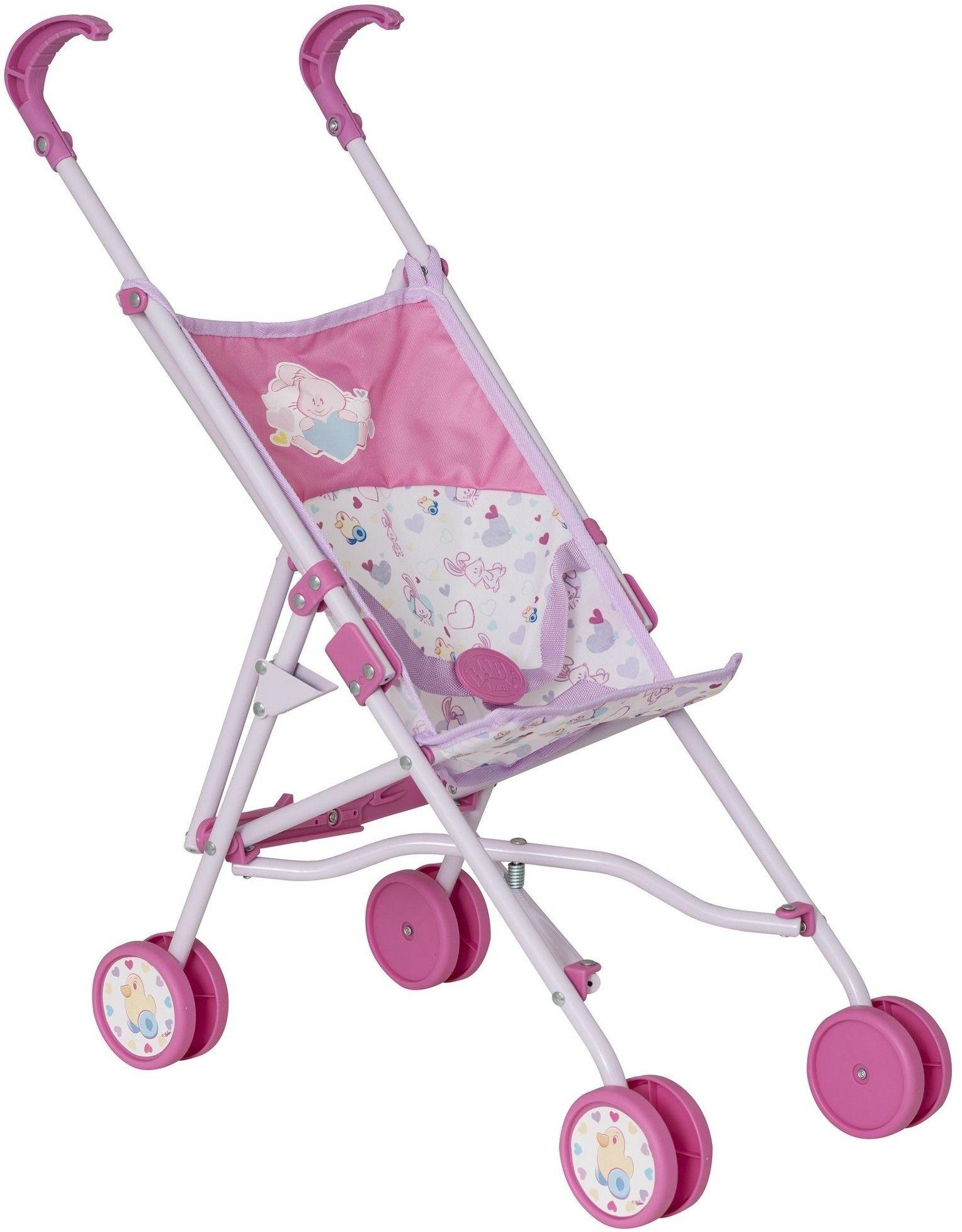 BABY born - Wózek dla lalki Spacerówka z siatką 1423691