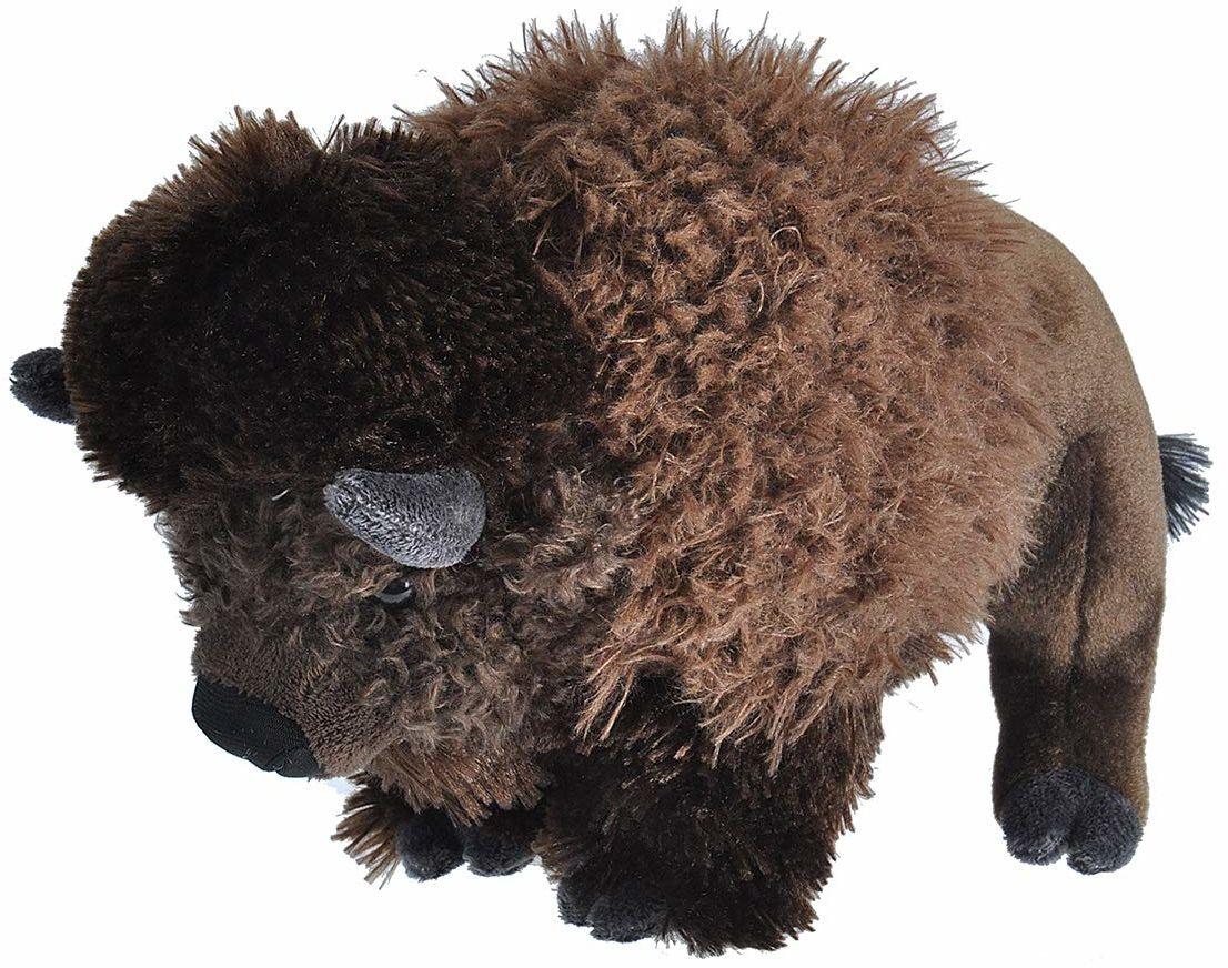 Wild Republic 10922 Bison pluszowe przytulanki miękkie zabawki prezenty dla dzieci, 30 cm