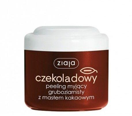 Ziaja Czekoladowy peeling myjący gruboziarnisty z masłem kakaowym 200 ml