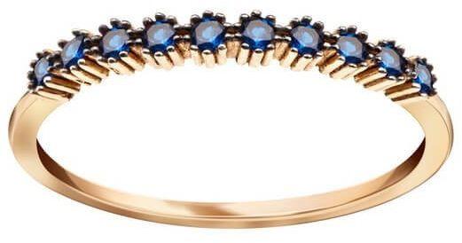 Złoty pierścionek PZC5420N - Cyrkonia