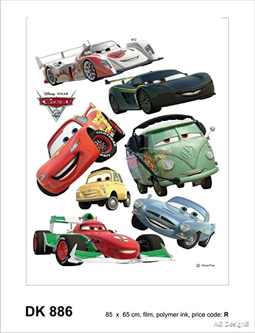Naklejka ścienna DK 886 Disney Cars