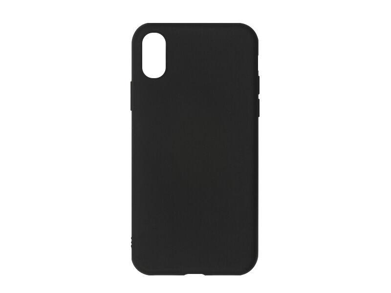 Apple iPhone X - etui na telefon Soft Flex - czarny