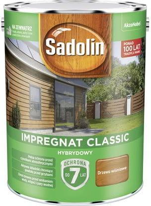 Sadolin Impregnat Classic Hybrydowy Drzewo Wiśniowe 4,5L