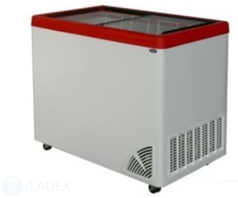 Zamrażarka przeszklona płaska ARO-300/1 BYFAL - 250 l