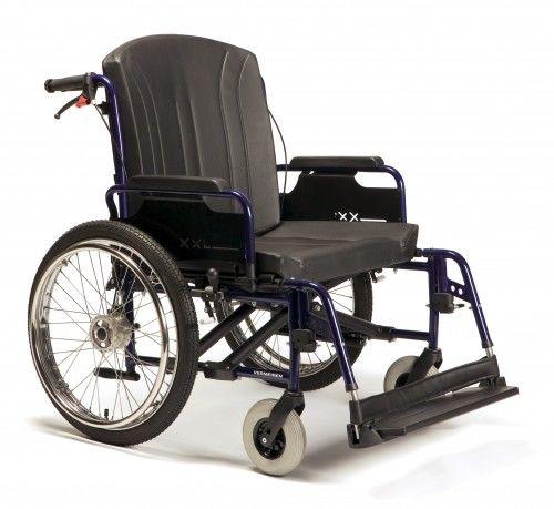 Wózek Eclips XXL o wzmocnionej konstrukcji