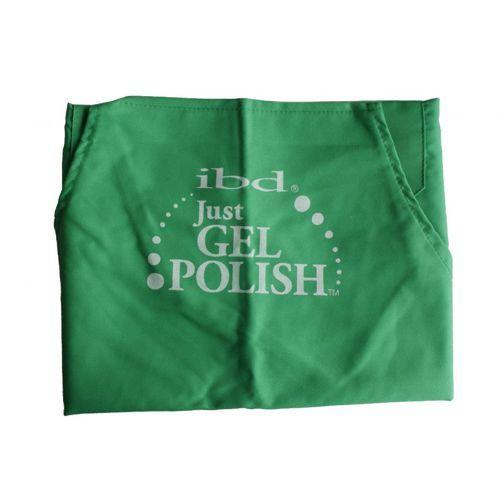 IBD Fartuszek kosmetyczny Just Gel Polish zielony
