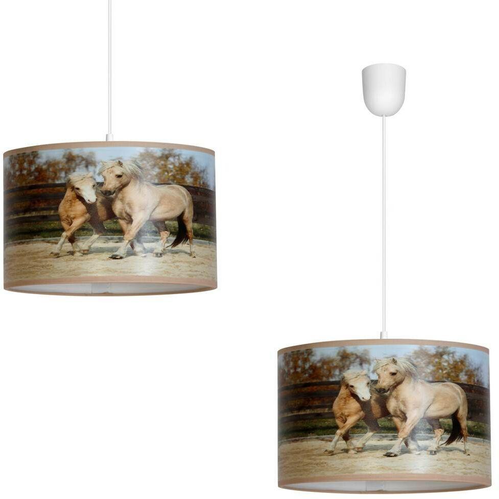 Lampa Wisząca HORSES 1xE27