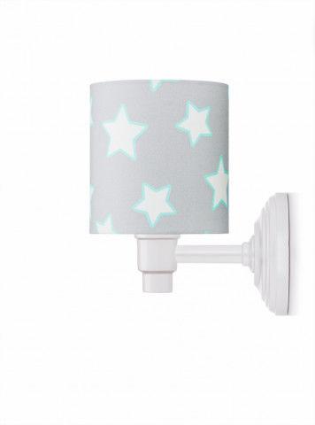 Kinkiet Grey Stars Lamps & Company