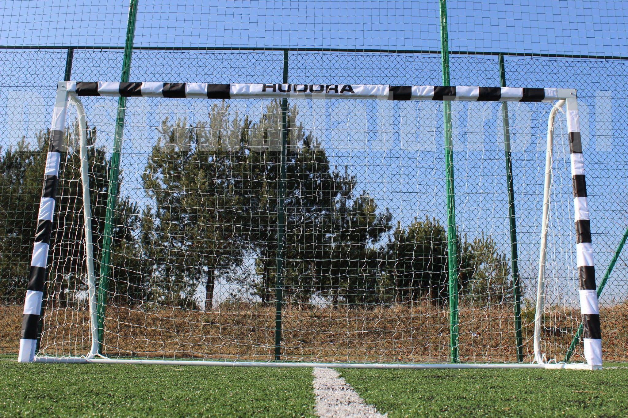 Bramka piłkarska STADION HUDORA 300 x 160 cm grube rury 60mm