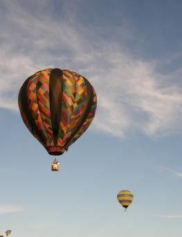 Lot balonem  Lublin