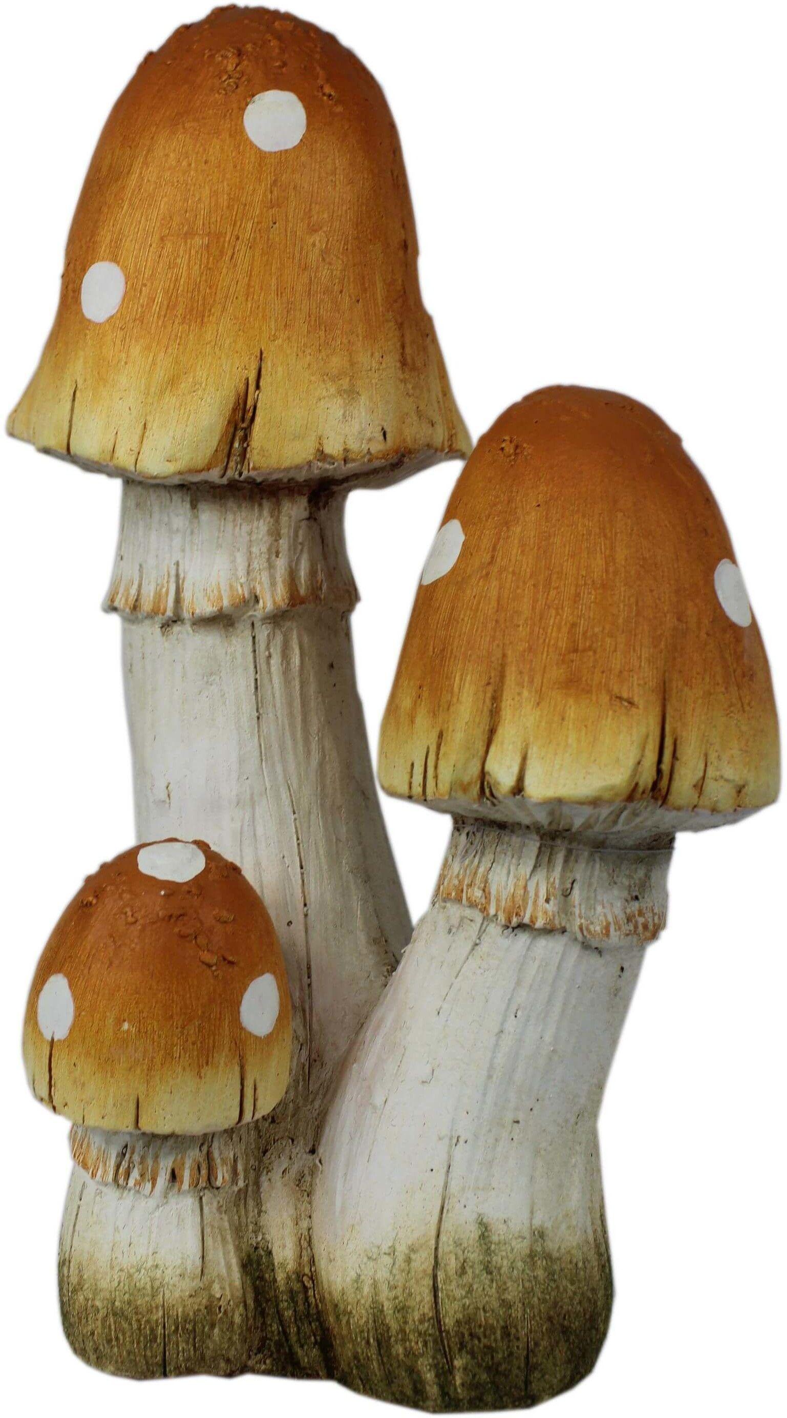 Figurka ogrodowa - grzyby