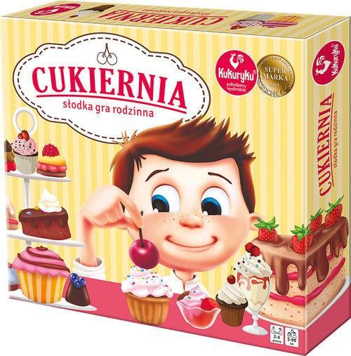 Cukiernia słodka gra rodzinna ZAKŁADKA DO KSIĄŻEK GRATIS DO KAŻDEGO ZAMÓWIENIA