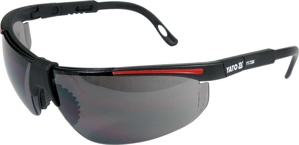Okulary ochronne szare Yato YT-7368 - ZYSKAJ RABAT 30 ZŁ