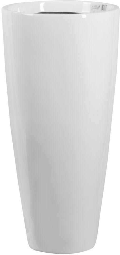Donica z włókna szklanego D282C biały połysk