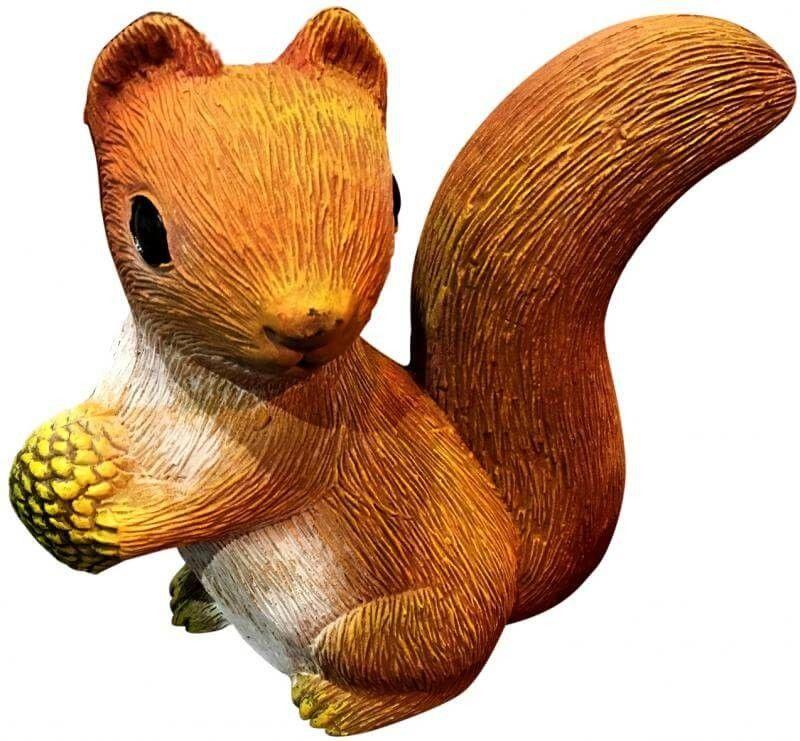 Figurka ogrodowa - wiewiórka 22x10x20 cm