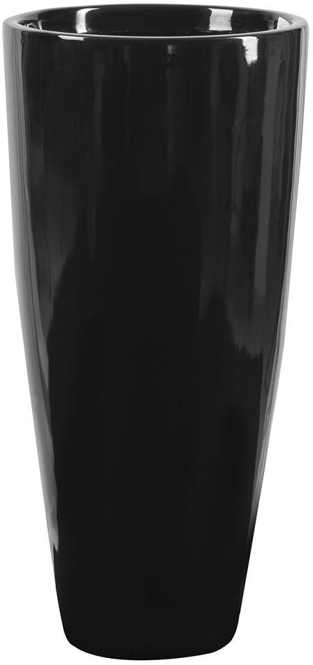 Donica z włókna szklanego D282C czarny połysk