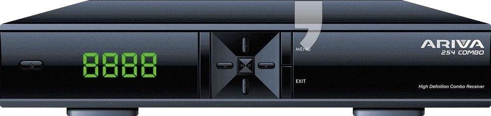 Ariva 254 Combo - tuner telewizji satelitarnej, naziemnej / kablowej HEVC
