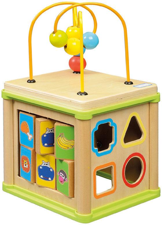 Playme - Drewniana kostka edukacyjna 150097