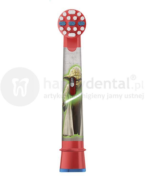 BRAUN Oral-B Stages Power 1szt. EB10-1 - końcówka do szczoteczki elektrycznej dla dzieci - wersja STAR WARS