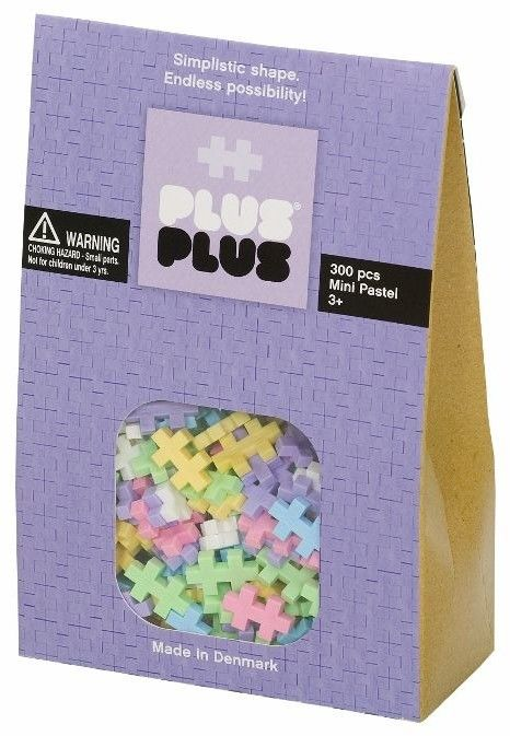 Klocki plastikowe PlusPlus Mini Pastel 300 el.