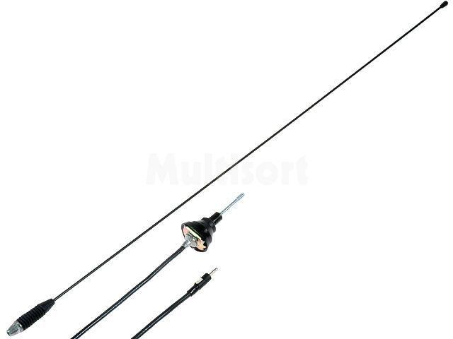 Antena prętowa 0,76m AM, FM 1,3m Nachylenie masztu: regulowane