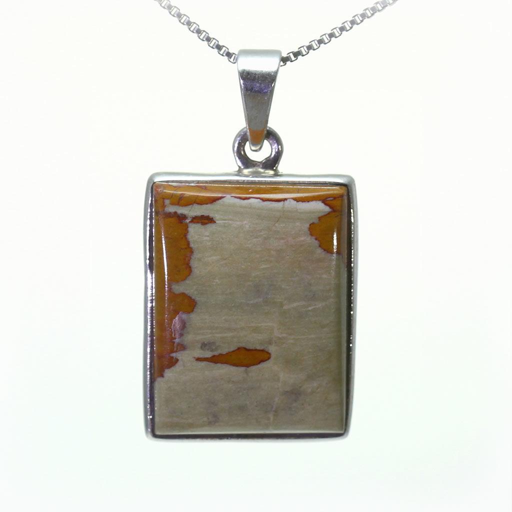 Kuźnia Srebra - Zawieszka srebrna, 35mm, Jaspis, 8g, model
