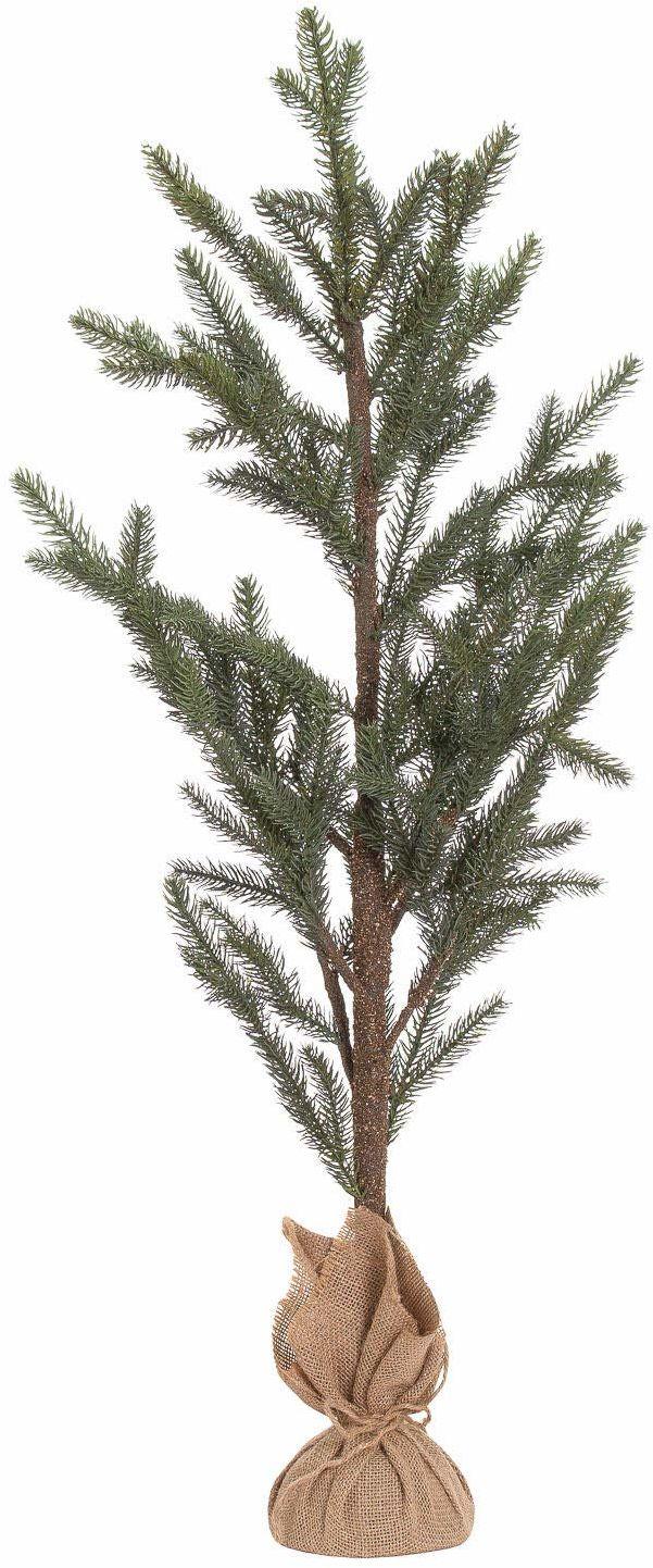 Hill 1975 Drzewo sosnowe, tworzywo sztuczne, brązowe/zielone, duże