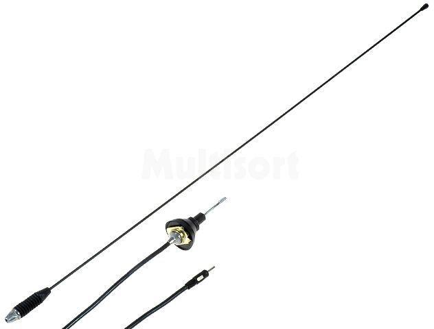Antena prętowa 0,76m AM, FM 1,6m Nachylenie masztu: regulowane