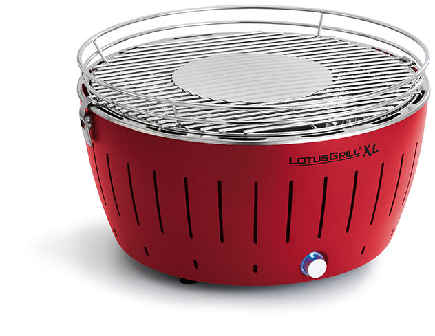 Grill bezdymny LotusGrill XL  czerwony + torba. WYSYŁKA + 2.5KG WĘGLA GRATIS. 14 dni na ZWROT!