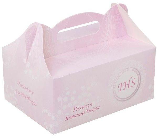 Pudełko na ciasto komunijne PK14