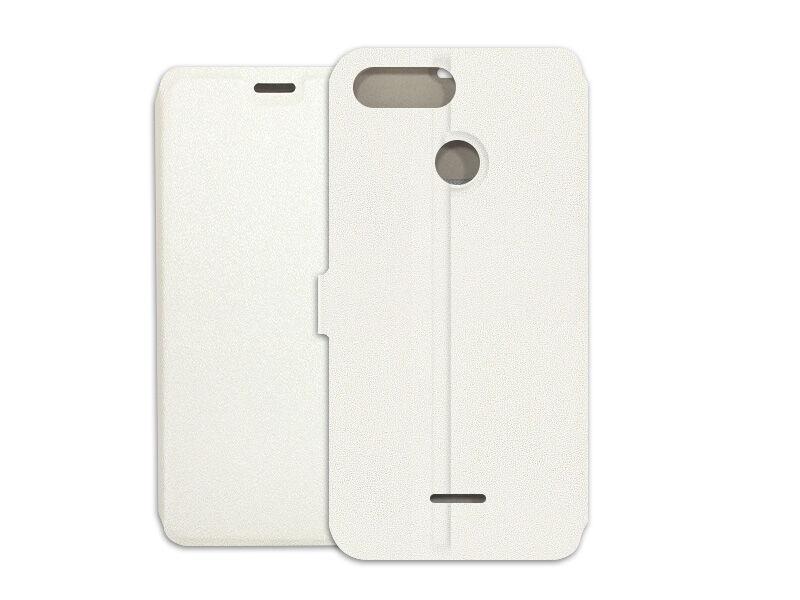 Xiaomi Redmi 6 - etui na telefon Wallet Book - biały