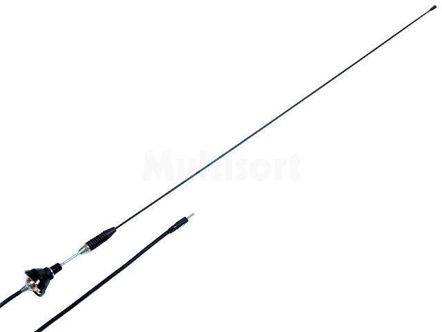 Antena prętowa 0,76m AM, FM 2,5m Nachylenie masztu: regulowane