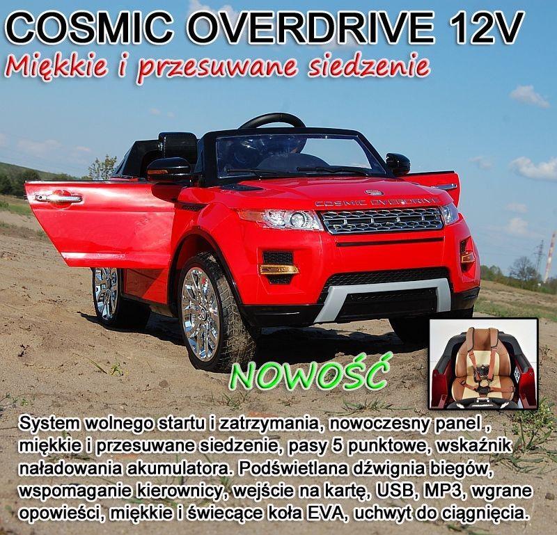 AUTO COSMIC OVERDRIVE Z WSPOMAGANIEM,MIĘKKIE SIEDZENIE, PASY 5 PUNKTOWE, PRZESUWANE SIEDZENIE/SX118