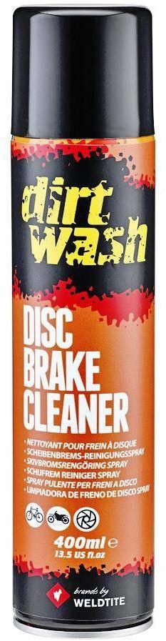 Odtłuszczacz do tarcz hamulcowych WELDTITE DIRTWASH DISC BRAKE CLEANER Aerosol Spray 400m