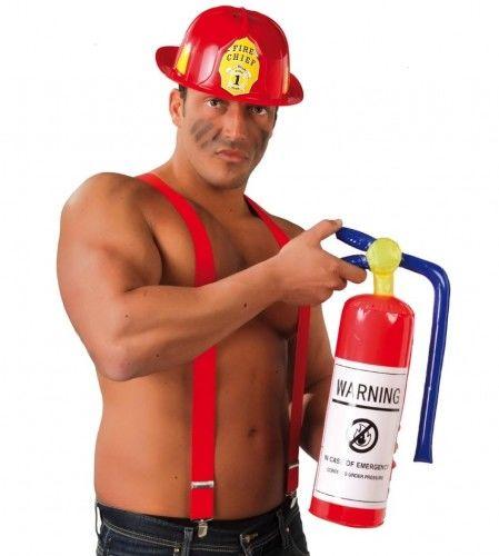 Gaśnica dla strażaka, nadmuchiwana