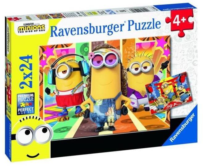 Puzzle 2x24 Minionki 2 - Ravensburger