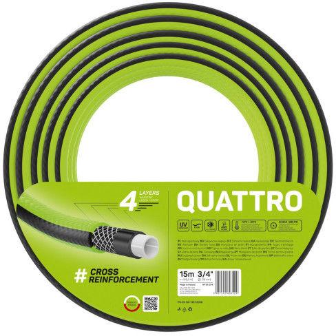"""Wąż ogrodowy Cellfast Quattro 3/4"""" 15m"""