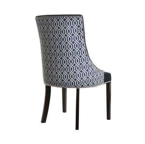 Krzesło Art Deco Black