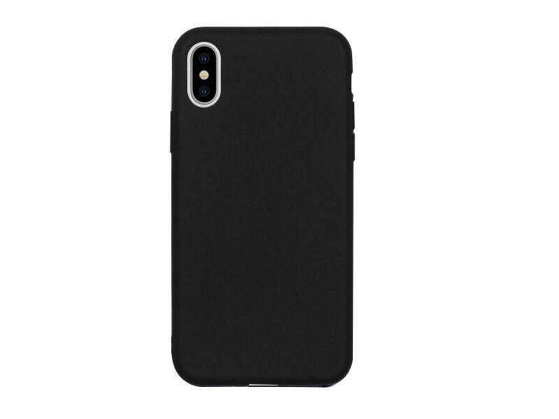 Apple iPhone XS - etui na telefon Soft Flex - czarny