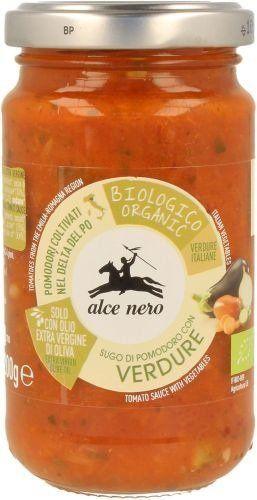 Sos Pomidorowy z Warzywami 350g - Alce Nero