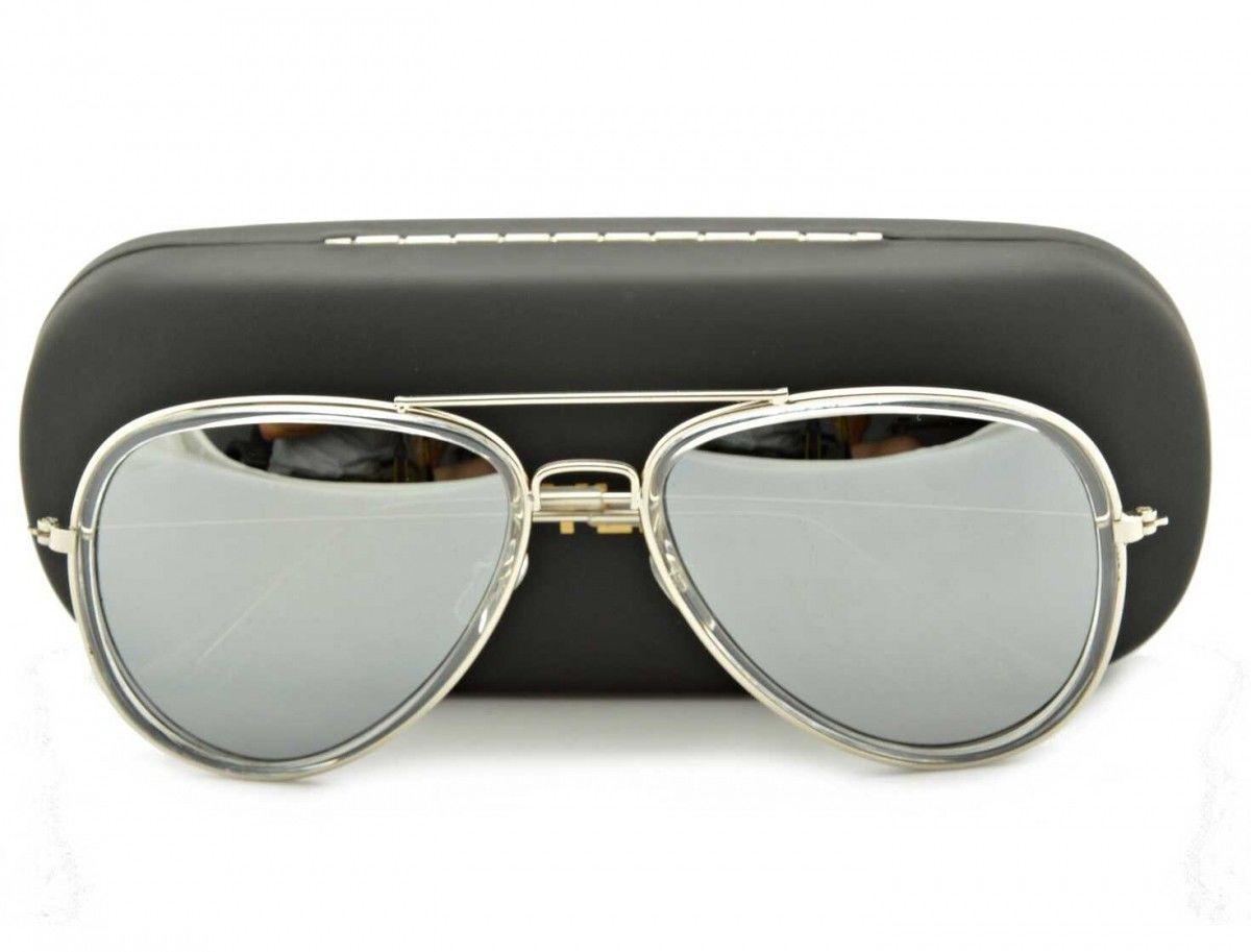 Okulary Pilotki Przeciwsłoneczne Lustra STR-483