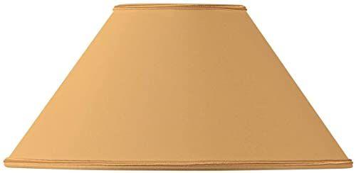 Klosz lampy w kształcie retro, Ø 45 x 14 x 25 cm, żółty