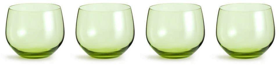 Sagaform - interiör - szklanki spectra - 4 szt. - 350 ml - zielone