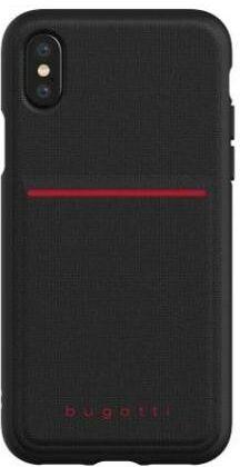 Bugatti Snap Case Flexcity iPhone X/Xs (czarny)
