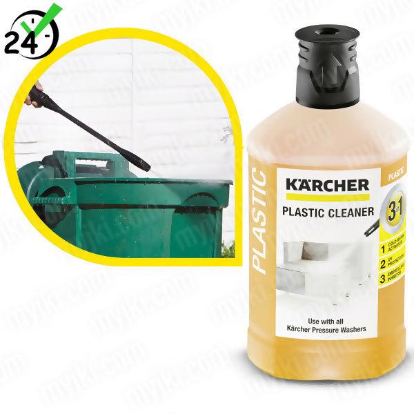 Środek czyszczący (1L) do plastiku 3w1, Karcher ZAPLANUJ DOSTAWĘ SKLEP SPECJALISTYCZNY KARTA 0ZŁ POBRANIE 0ZŁ ZWROT 30DNI RATY GWARANCJA D2D LEASING WEJDŹ I KUP NAJTANIEJ
