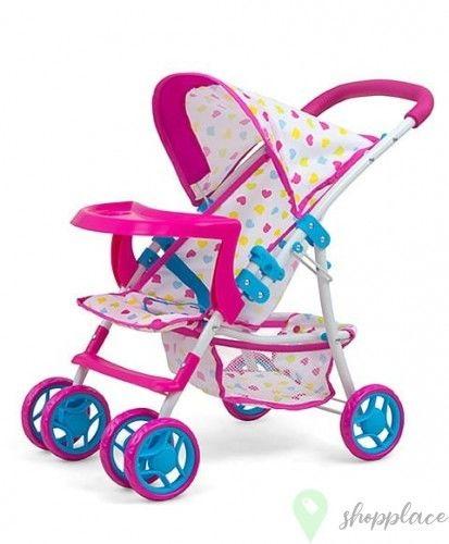 Milly Mally Wózek dla lalek Kate Candy z tacką