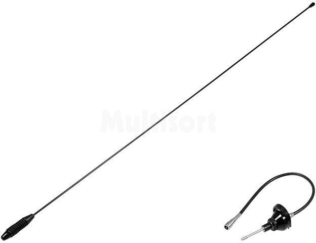 Antena prętowa 0,76m AM, FM 0,3m montowana na karoserii